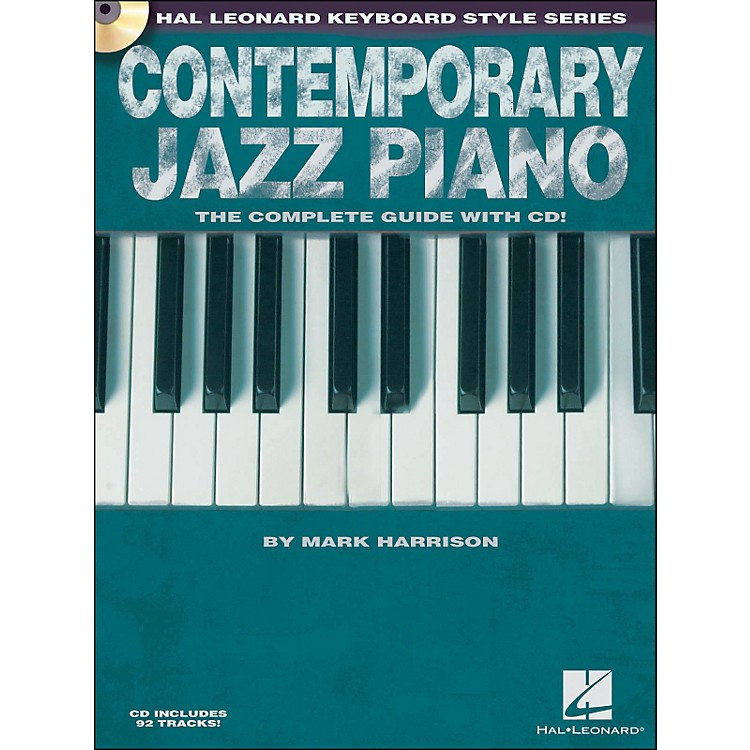 Hal Leonard Contemporary Jazz Piano (Book/CD) - Hal Leonard Keyboard Style Series