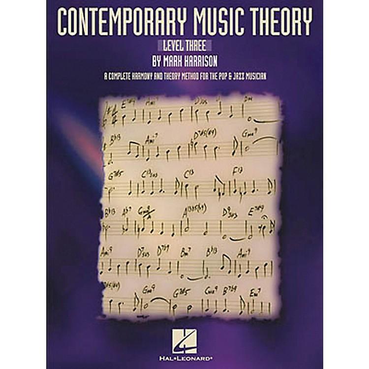 Hal LeonardContemporary Music Theory - Level Three Book