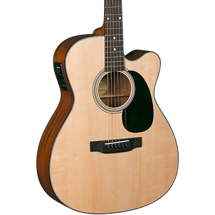 BlueridgeContemporary Series BR-43CE Cutaway 000 Acoustic-Electric GuitarNatural
