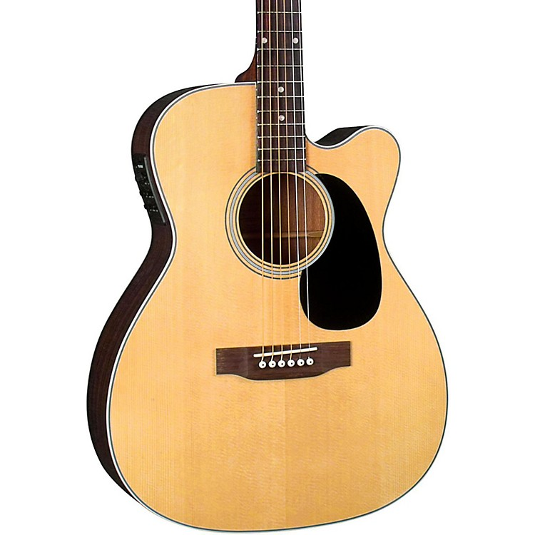 Blueridge Contemporary Series BR-63CE Cutaway 000 Acoustic-Electric Guitar Natural
