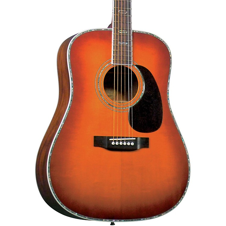 BlueridgeContemporary Series BR-70 Adirondack Dreadnought Acoustic GuitarSunburst
