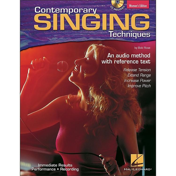 Hal LeonardContemporary Singing Techniques - Women's Edition Book/CD