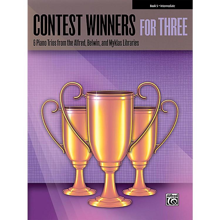 AlfredContest Winners for Three Book 5 Intermediate Piano