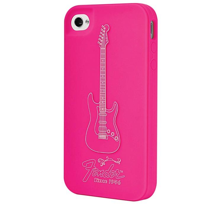 Hal LeonardContour Design Fender iPhone 4/4S Genuine Magenta Silicone Protective Case