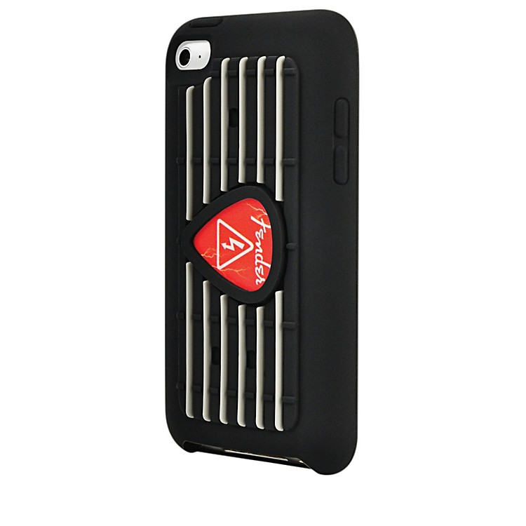 Hal LeonardContour Design Fender iTouch Red Pick Silicone Protective Case