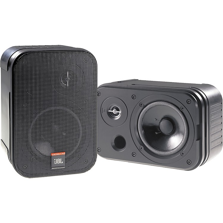 JBL Control 1 Pro 5.25IN 150W 2 Way Compact Speaker Pair Black