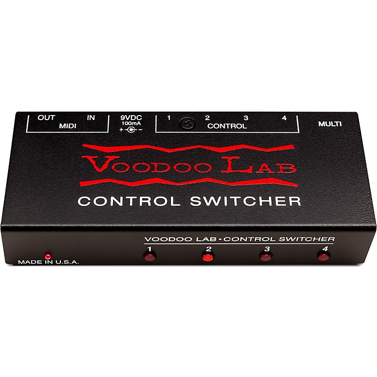 Voodoo LabControl Switcher Guitar Footswitch