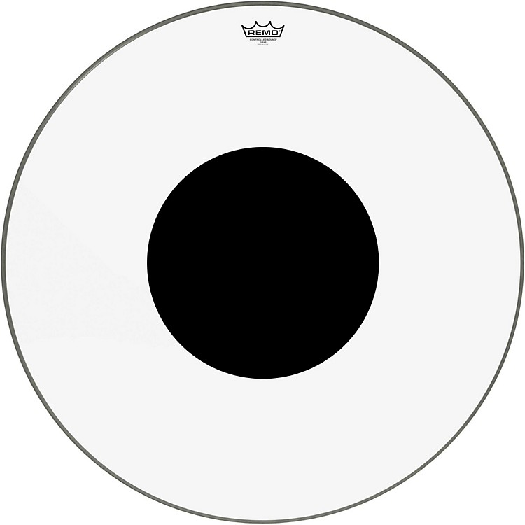 RemoControlled Sound Clear with Black Dot Bass Drum