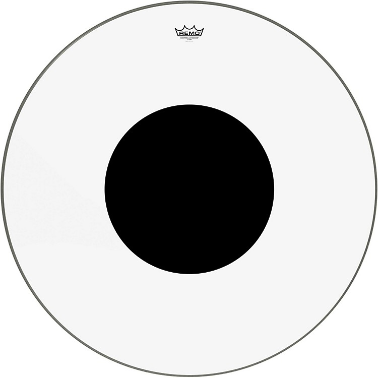 RemoControlled Sound Clear with Black Dot Bass Drum32 in.