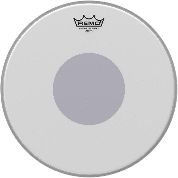 Remo Controlled Sound Reverse Dot Coated Snare Head  14 Inches