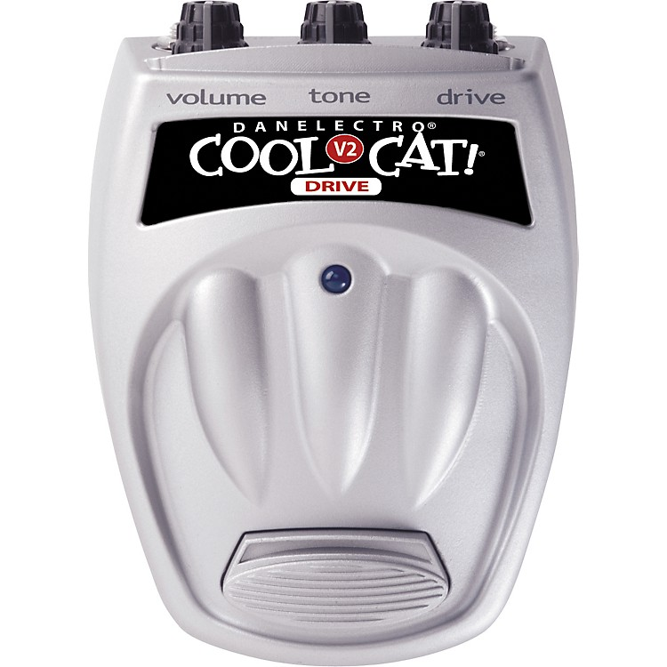 DanelectroCool Cat CO-2 Overdrive V2 Guitar Effects Pedal