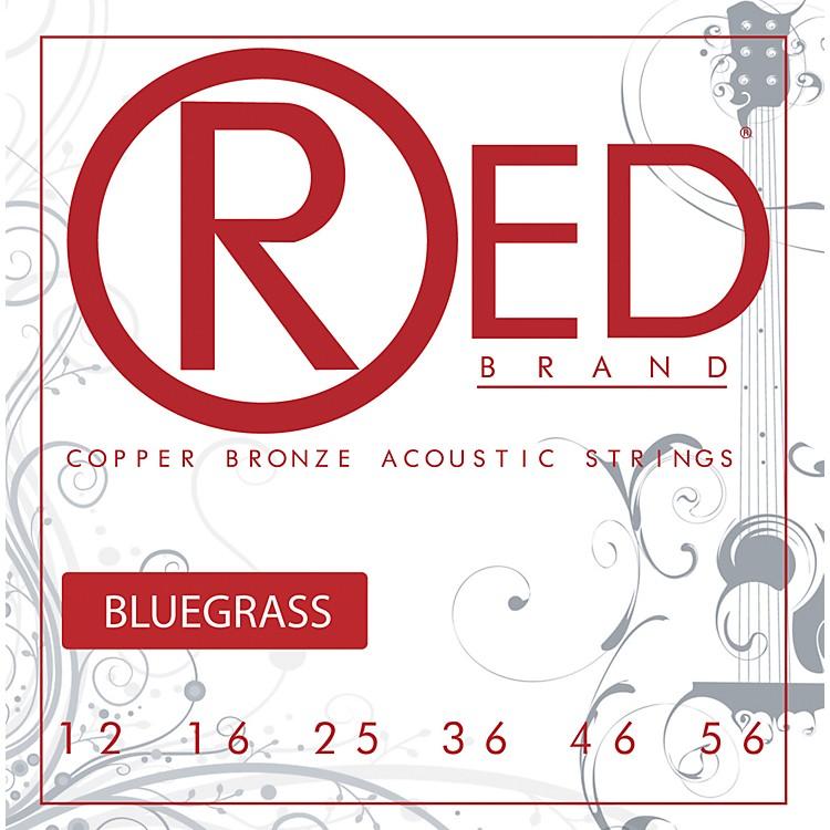 Red StringsCopper Bronze Acoustic Guitar Strings Bluegrass