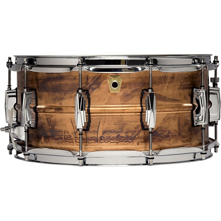 Ludwig Copper Phonic Snare Drum 14 x 6.5 in.