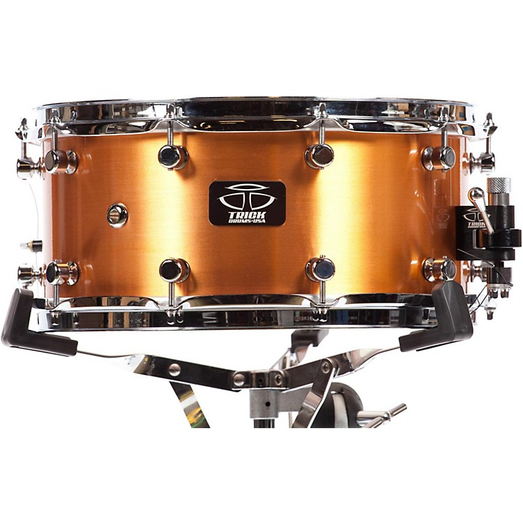 Trick Drums Copper Snare Drum 14x6.5