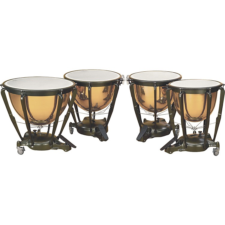 Majestic Copper Symphonic Timpani 32 in. Hammered