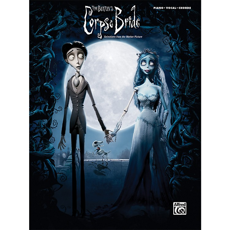 Alfred Corpse Bride Selections from the Motion Picture Piano/Vocal/Chords