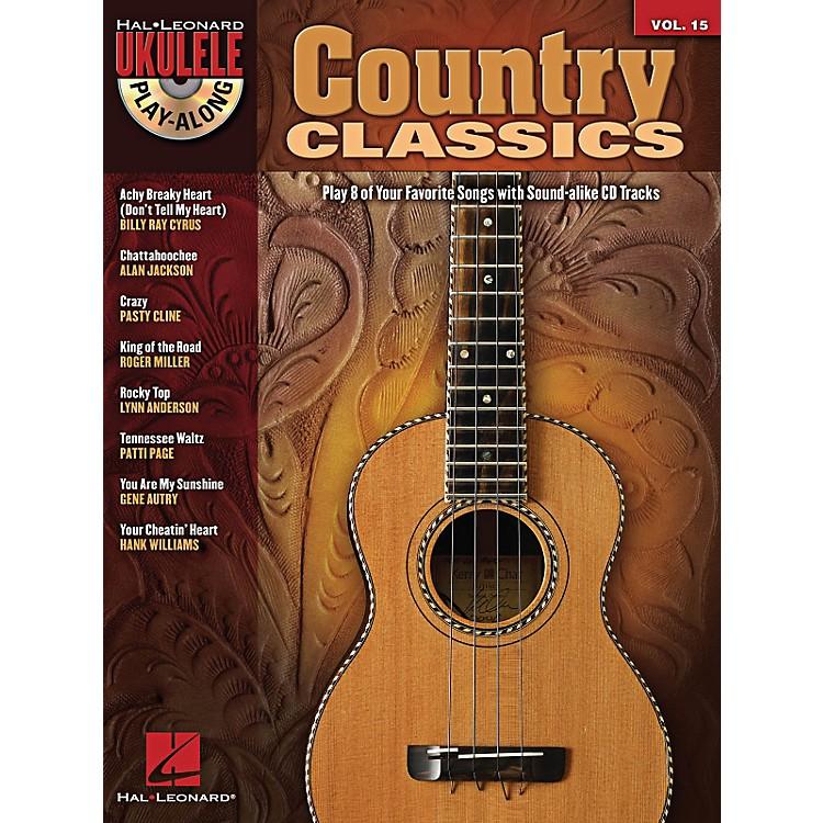 Hal LeonardCountry Classics Ukulele Play-Along Volume 15 Book/CD