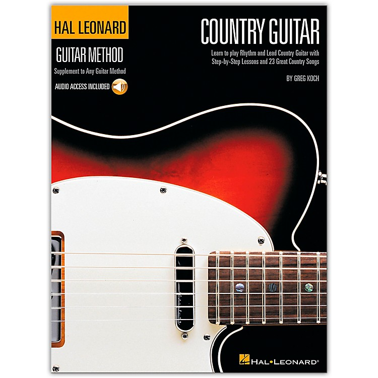 Hal Leonard Country Guitar Method (Book/CD)