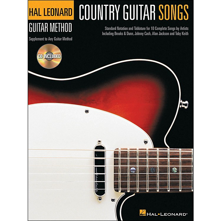 Hal Leonard Country Guitar Songs - Hal Leonard Guitar Method Supplement (Book/CD)