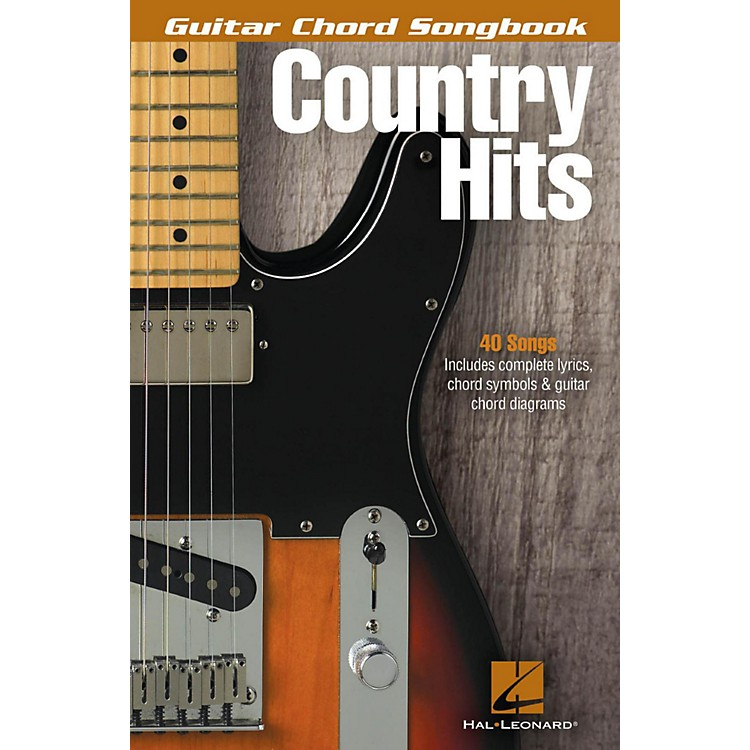 Hal LeonardCountry Hits - Guitar Chord Songbook