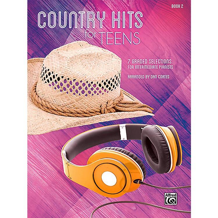 AlfredCountry Hits for Teens, Book 2 - Intermediate