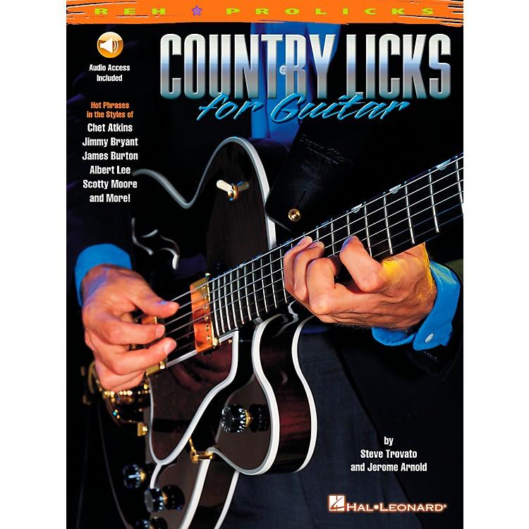 REHCountry Licks for Guitar (Book/CD)