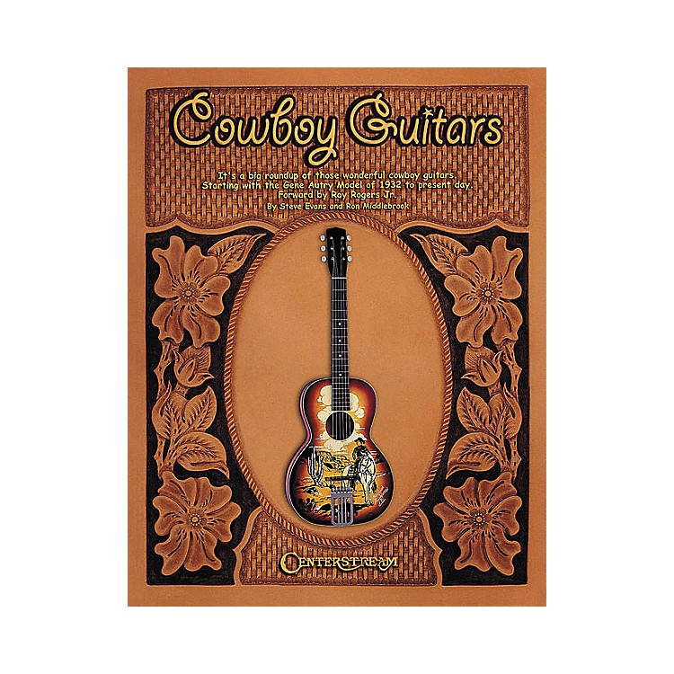 Centerstream Publishing Cowboy Guitars - Hardcover Book