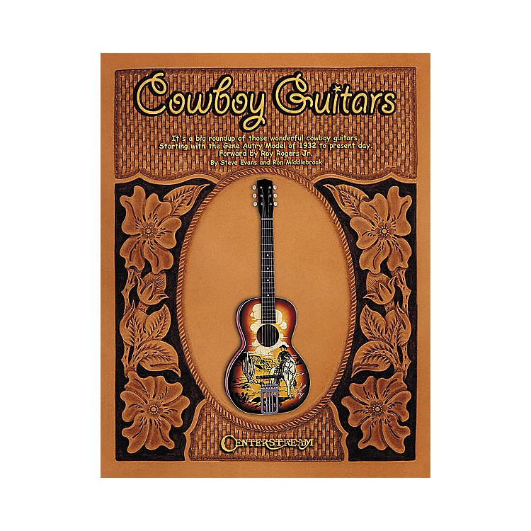 Centerstream PublishingCowboy Guitars - Softcover Book