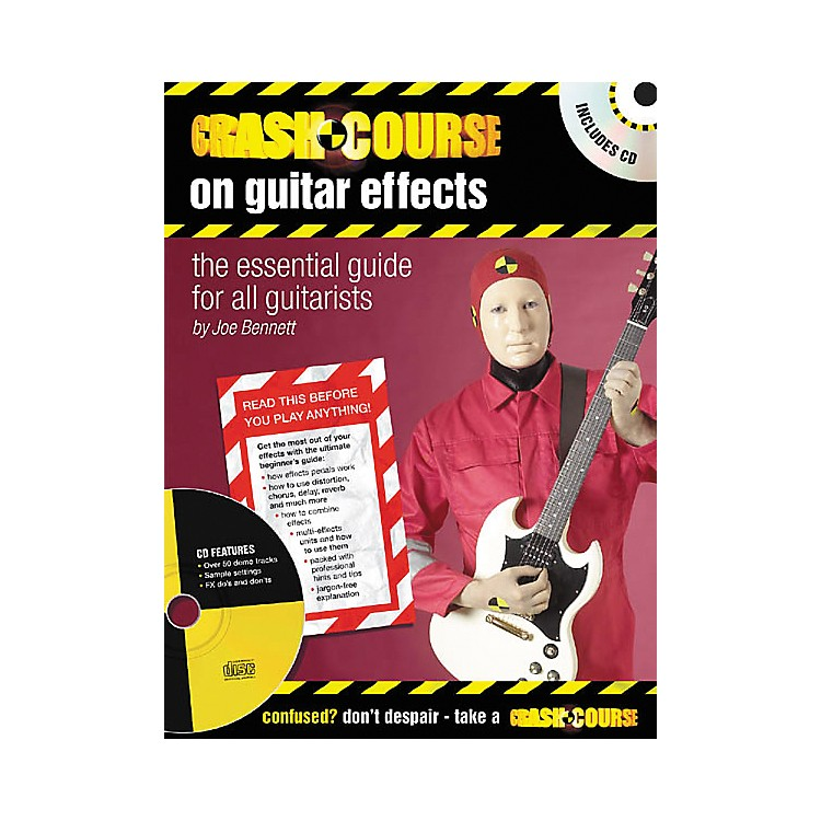 Artemis Music Crash Course on Guitar Effects (Book/CD)