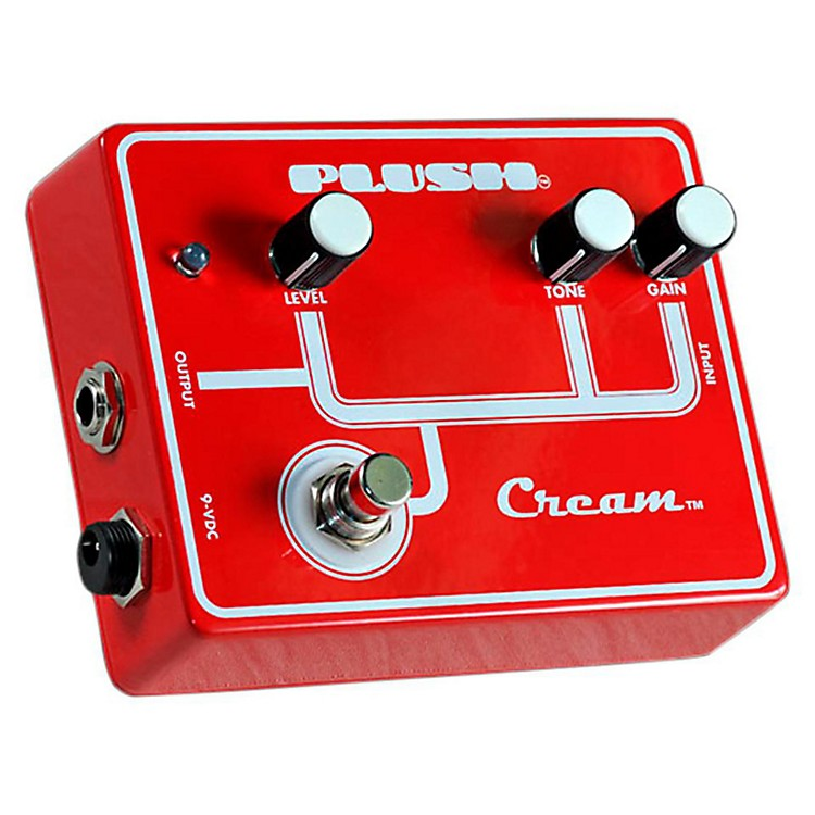 Plush Cream Overdrive Guitar Effects Pedal