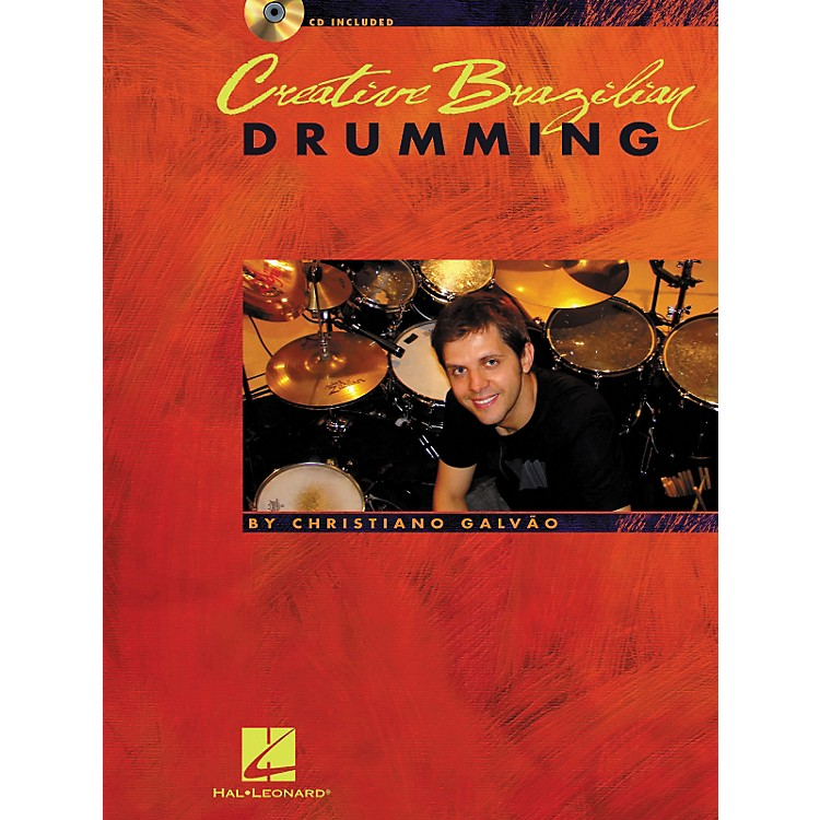 Hal Leonard Creative Brazilian Drumming - Book/CD