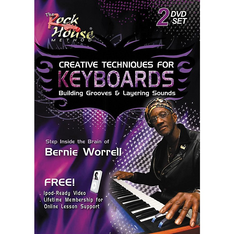 Rock House Creative Techniques for Keyboard Building Grooves & Layering Sounds (2-DVD Set)
