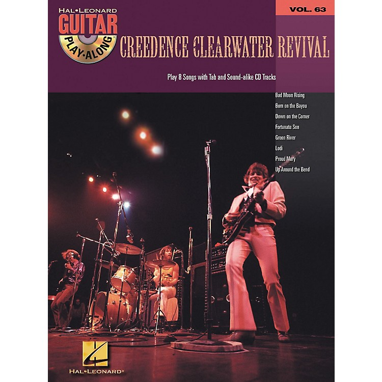 Hal LeonardCreedence Clearwater Revival - Guitar Play-Along Volume 63 Book and CD