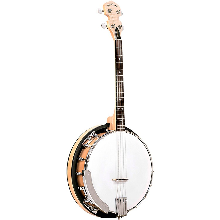 Gold Tone Cripple Creek Irish Tenor Banjo with Resonator Natural