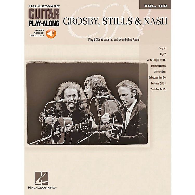 Hal Leonard Crosby Stills & Nash - Guitar Play-Along Volume 122 Book/CD