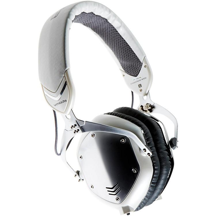 V-MODACrossfade M-100 Over-Ear Noise-Isolating Metal HeadphoneWhite Silver