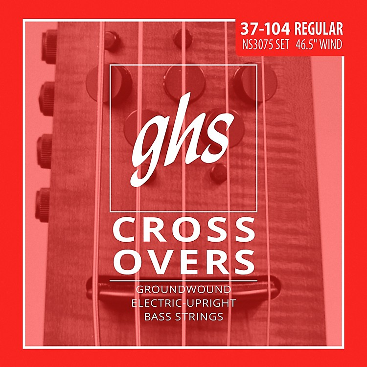GHSCrossovers NS Design Upright Electric Bass Strings (47-105)