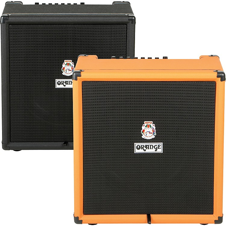 Orange Amplifiers Crush PiX Bass Series CR100BXT 100W 1x15 Bass Combo Amp Orange