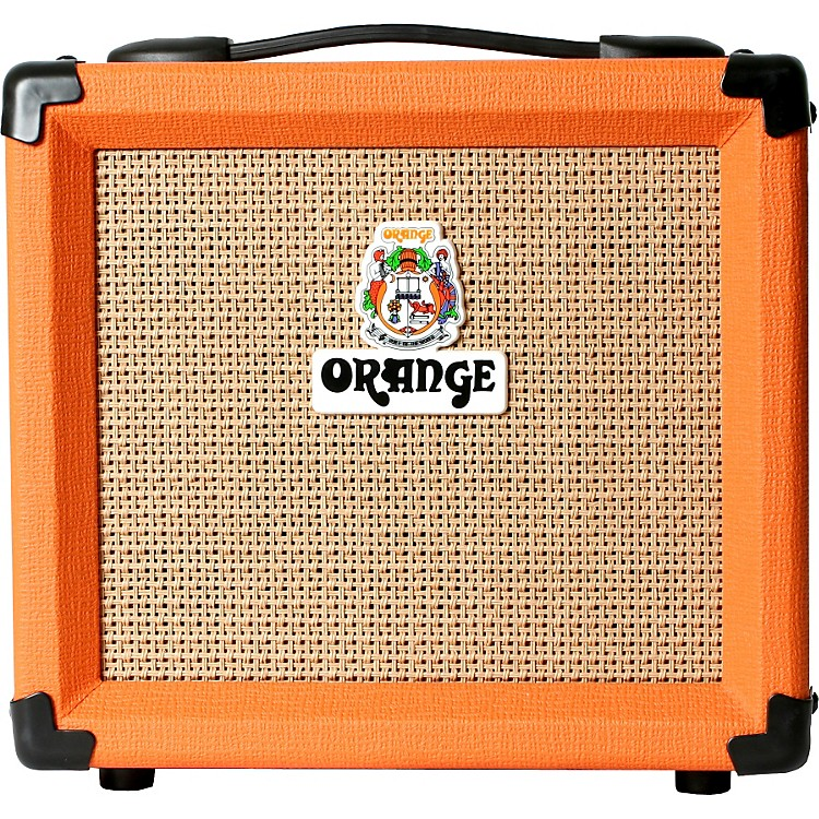 Orange Amplifiers Crush PiX Series CR12L 12W 1x6 Guitar Combo Amp Orange