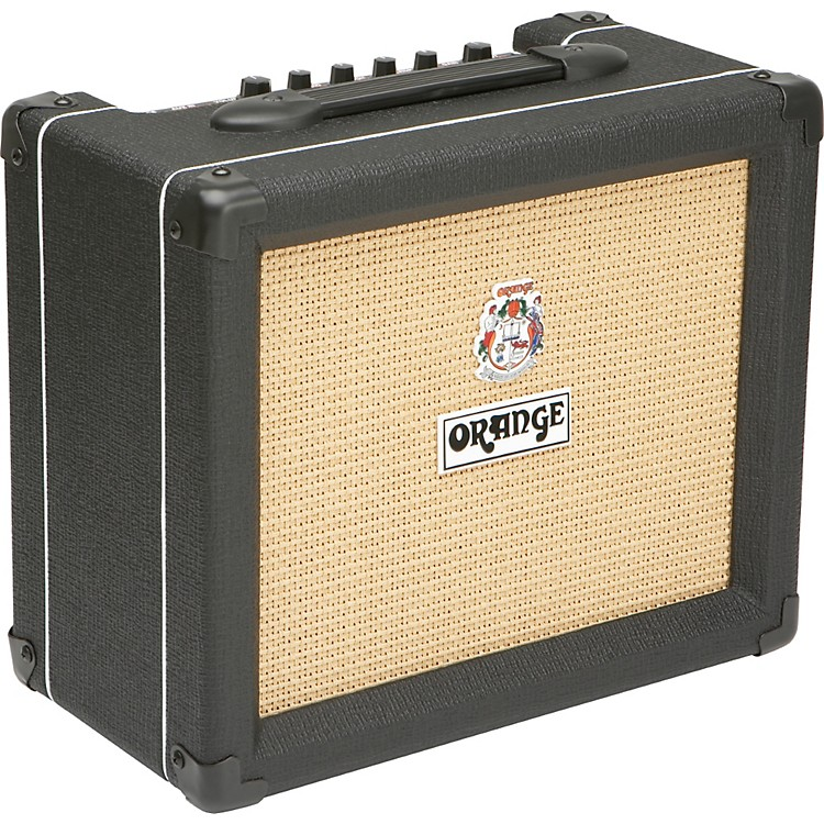 Orange Amplifiers Crush PiX Series CR20L 20W 1x8 Guitar Combo Amp Black
