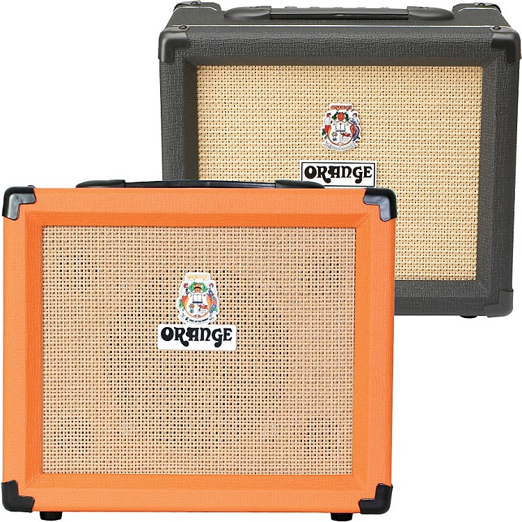 Orange Amplifiers Crush PiX Series CR20L 20W 1x8 Guitar Combo Amp Orange