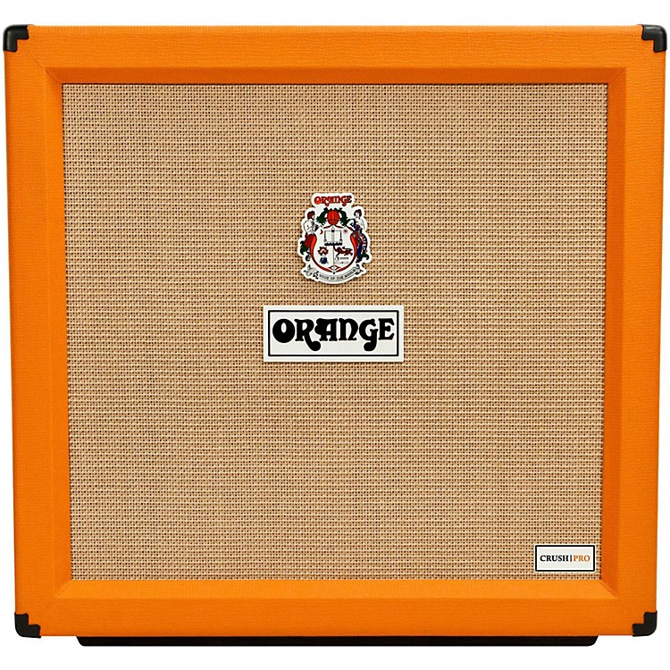 Orange Amplifiers Crush Pro 4x12 Guitar Cabinet Orange