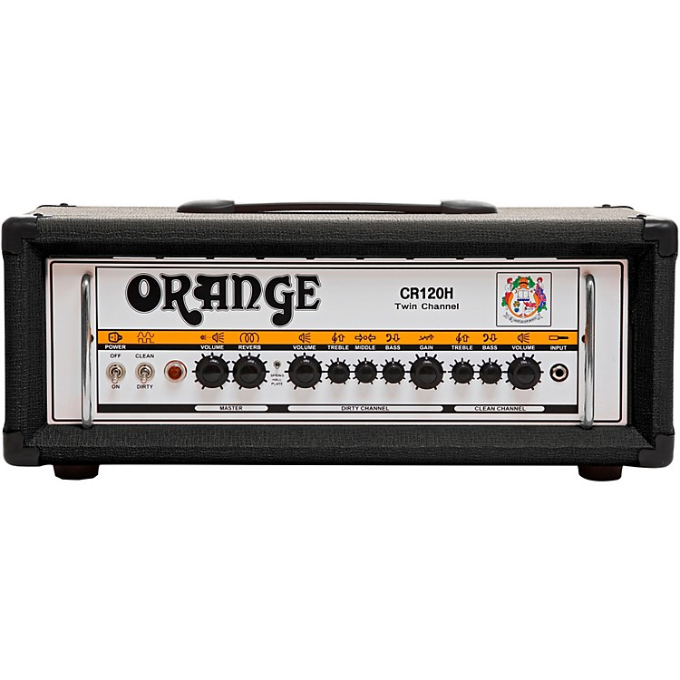 Orange Amplifiers Crush Pro CR120H 120W Guitar Amp Head Black