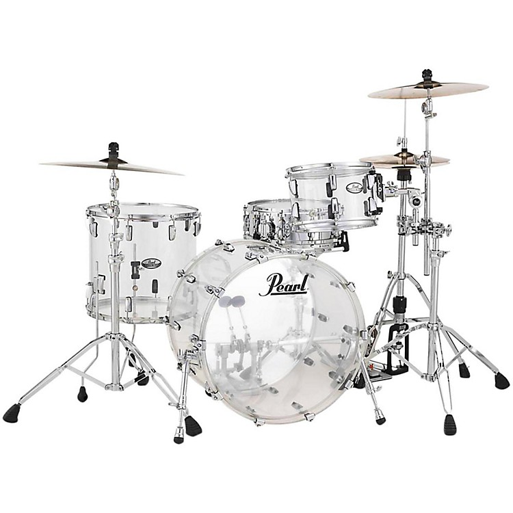Pearl Crystal Beat 3-Piece Jazz Shell Pack Ultra Clear