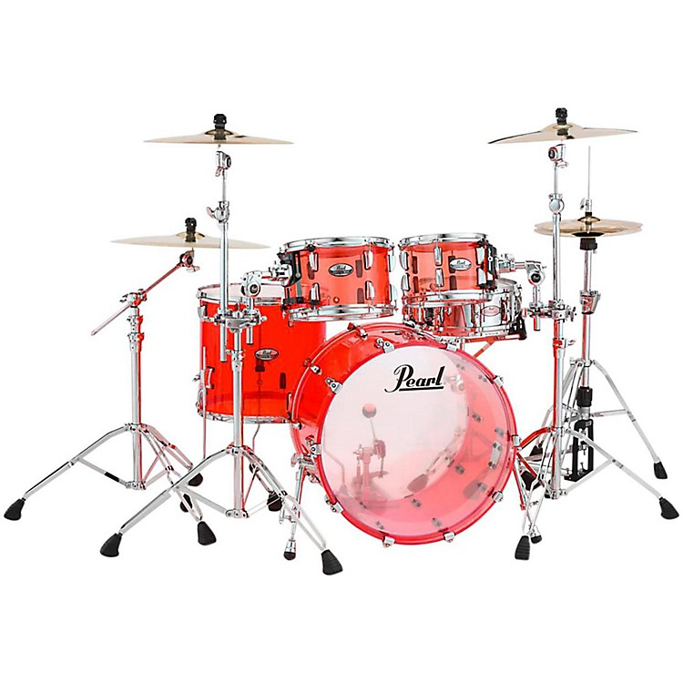 PearlCrystal Beat 4-Piece New Fusion Shell PackRuby Red