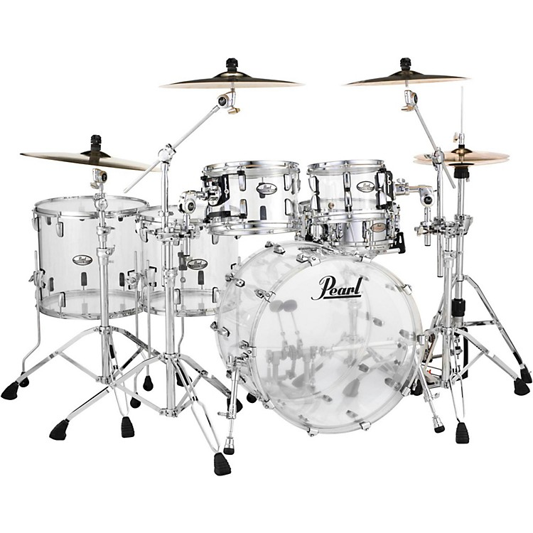 PearlCrystal Beat 5-Piece Shell PackUltra Clear