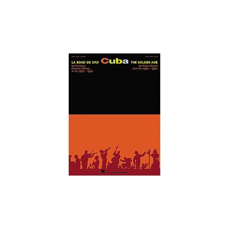 Hal LeonardCuba La Edad De Oro - The Golden Age Piano, Vocal, Guitar Songbook