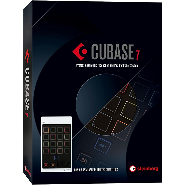 Steinberg Cubase 7.5 with CMC-PD Pad Controller Bundle