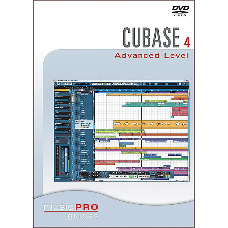 Hal Leonard Cubase SX 4.0 Advanced Level DVD Music Pro Guide Series