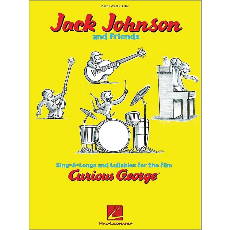 Hal LeonardCurious George - Jack Johnson & Friends arranged for piano, vocal, and guitar (P/V/G)